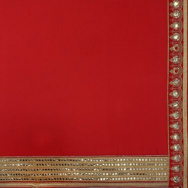 Indian Women Satin Chiffon Printed Saree -RA10610