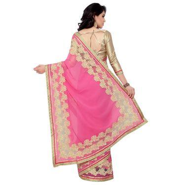 Indian Women Chiffon Printed Saree -RA10619