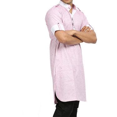 Runako Regular Fit Printed Party Wear Pathani Kurta For Men_RK4108 - Multicolor