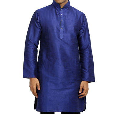 Runako Regular Fit Printed Party Wear Pathani Kurta For Men_RK4119 - Multicolor