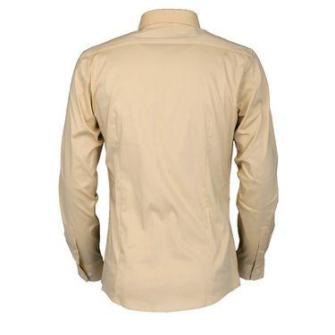 Royal Son Slim Fit Cotton Shirt For Men_Rs1c - Cream
