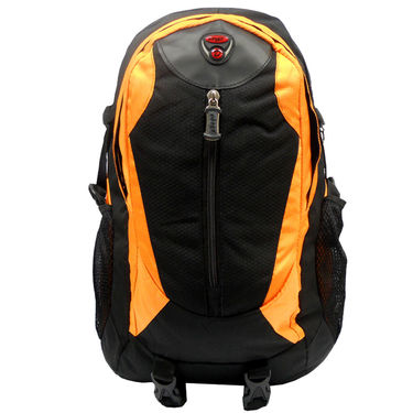 Donex Polyster Rucksack RSC00687 -Black & Orange