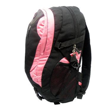 Donex Polyster Rucksack RSC00690 -Black & Pink