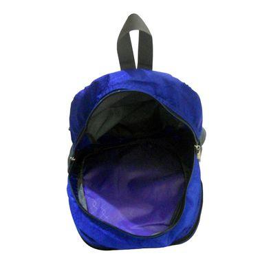 Donex Designer Light weight College Backpack Blue Grey_RSC00886