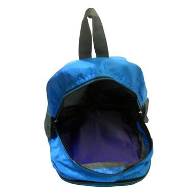 Donex Designer Light weight College Backpack Blue Grey_RSC00888