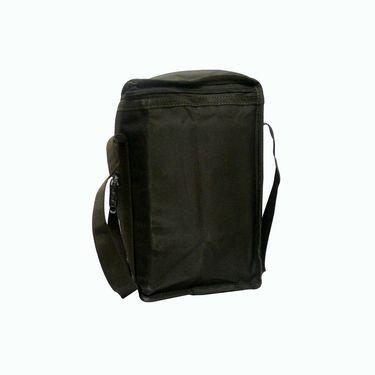 Donex Medium Padded Polyster Lunch Bag Brown_RSC00971