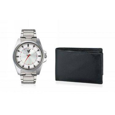 Combo of Rico Sordi Analog Wrist Watch + Wallet_RSD28_WW