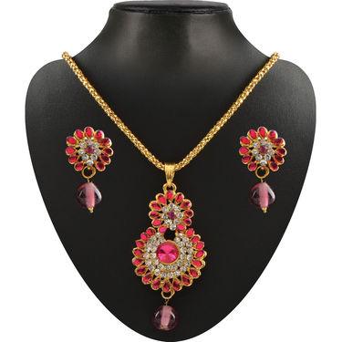 Rangoli 16 Heavy Jewellery Set by Vellani
