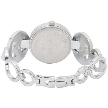 Adine Analog Round Dial Wrist Watch For Women_Rsw06 - White