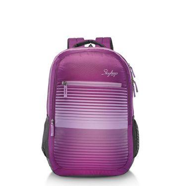 Skybags Purple Laptop Backpack_Pixel plus 02 Purple