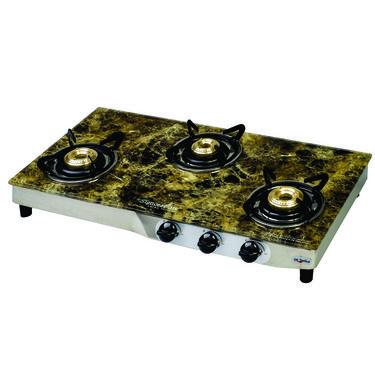 Signoracare SCLPG-2203GT 3B Glass Cooktop - Black