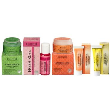 Hydrates And Detoxifies Skin Combo With Pocket Pack - Sun Ban