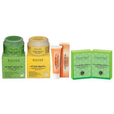 Supple & Rehydrates Skin Combo  - Mint Magic