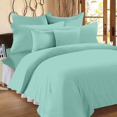 Storyathome 100% Cotton Single Bedsheet with 1 Pillow Cover-SP2004