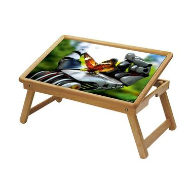 Shopper52 Foldable Wooden Study Table For Kids-STUDY018
