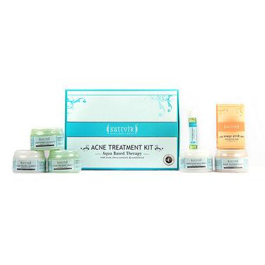 Sattvik Organic Acne Treatment Combo - SOC11