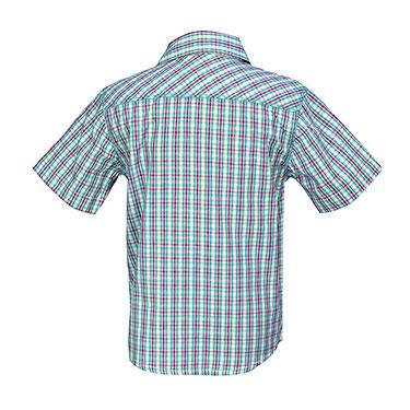ShopperTree Checks Shirt for Boy - Green