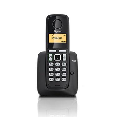 Gigaset A 220 Cordless Phone - Black