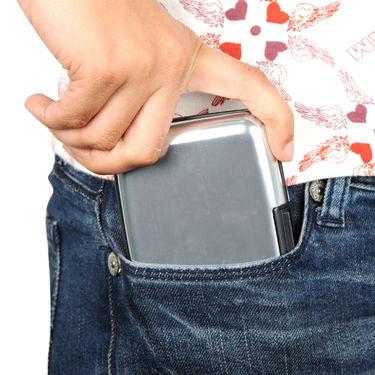 Stylish Aluminium Secure Wallet - Buy 3 Get 3 Free