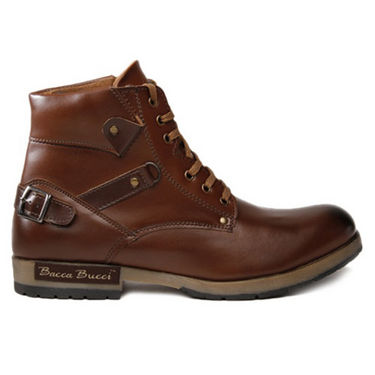 Bacca bucci High Ankle Length Boots - Brown