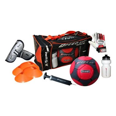 Speed Up Deluxe 7 Pcs Football Set - Red