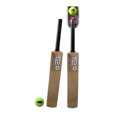Speed Up Gold T-20 Cricket Bat & Ball Set Size - 1