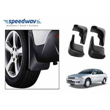 Speedwav Car Mud Flaps Set 4 pcs - Mitsubishi Lancer