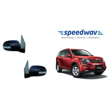 Speedwav Car Side Rear View Mirror Assembly SET OF 2 - Mahindra XUV 500