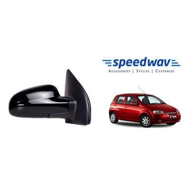 Speedwav Car Side Rear View Mirror Assembly RIGHT - Chevrolet Aveo UVA