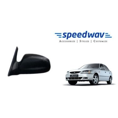 Speedwav Car Side Rear View Mirror Assembly LEFT - Hyundai Accent