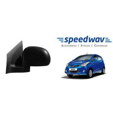 Speedwav Car Side Rear View Mirror Assembly LEFT - Hyundai Eon