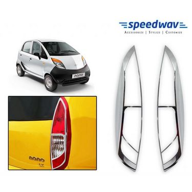 Speedwav Tata Nano Chrome Tail Light Molding