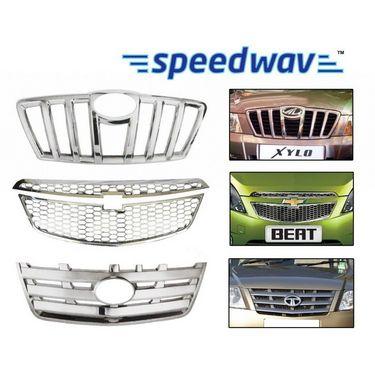 Speedwav Mauti Suzuki Wagon R Type 4 Front Chrome Grill Covers