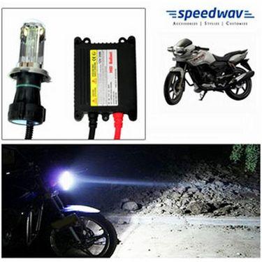 Speedwav Bike HID Headlight Conversion Kit 6000K - TVS Appache RTR 160