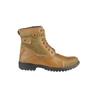 Delize Leather Boot T-001-Tan