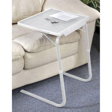 Shoper52 Designer Portable Adjustable Dinner Cum Laptop Tray Table-TABLE030