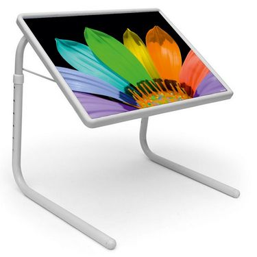 Shoper52 Designer Portable Adjustable Dinner Cum Laptop Tray Table-TABLE032