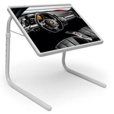 Shoper52 Designer Portable Adjustable Dinner Cum Laptop Tray Table-TABLE035