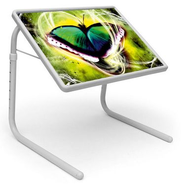 Shoper52 Designer Portable Adjustable Dinner Cum Laptop Tray Table-TABLE065