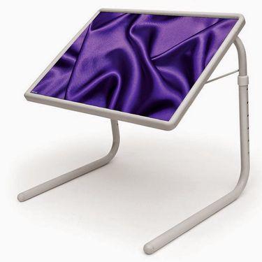 Shoper52 Designer Portable Adjustable Dinner Cum Laptop Tray Table-TABLE076