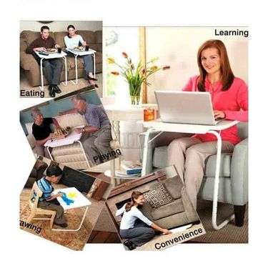 Shoper52 Designer Portable Adjustable Dinner Cum Laptop Tray Table-TABLE086