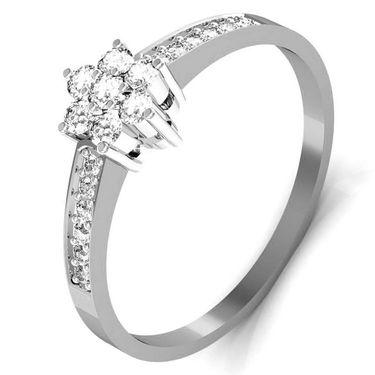Avsar Real Gold & Swarovski Stone Minal Ring_T039wb
