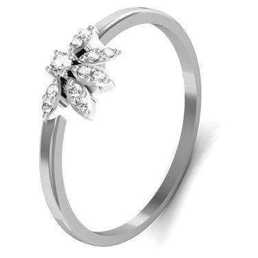 Avsar Real Gold & Swarovski Stone Tejal Ring_T045wb