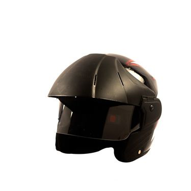 Autofurnish (TC-201) Stylish Trace Helmet With Multi Graphics (Black)-TC-201