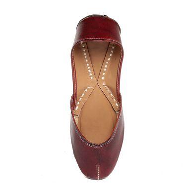 Patent Leather Maroon Juttis -jtitjb-04Mrn01