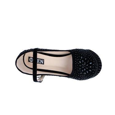 Ten Synthetic Black Stilettos -ts04