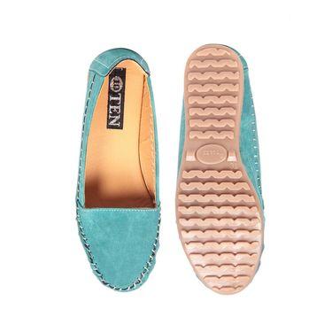Ten Denim Green Loafers -ts152