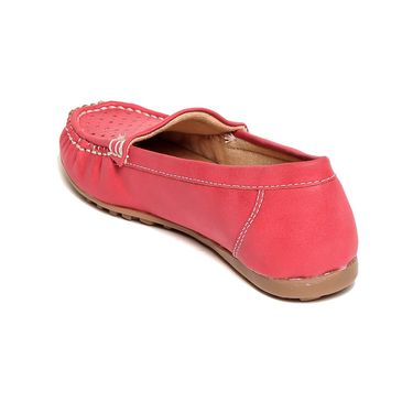 Pink Leather Loafers -lfpncpnk03