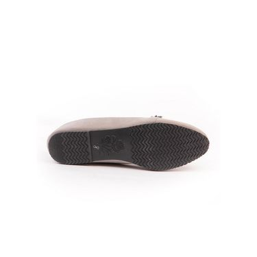 Ten Suede Grey Loafers -ts140