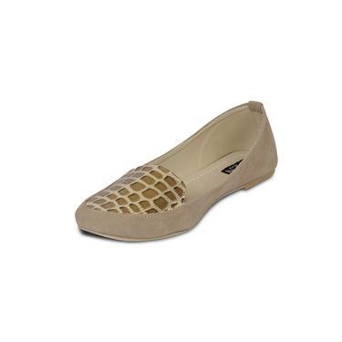 Ten Suede Beige Loafers -ts113